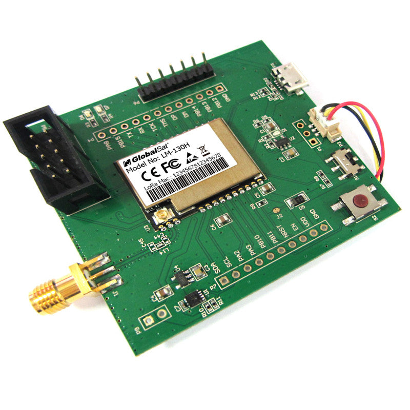 Globalsat LM-EVB evaluation board with AU firmware