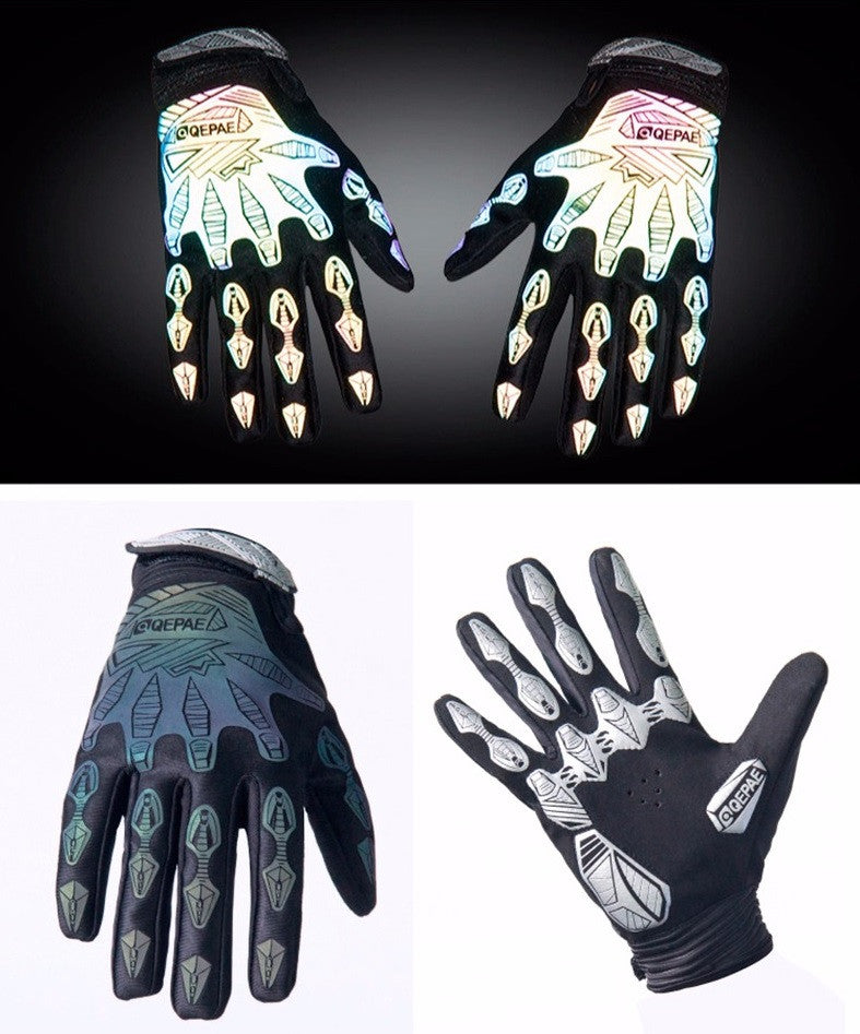 Reflective Cycling Gloves