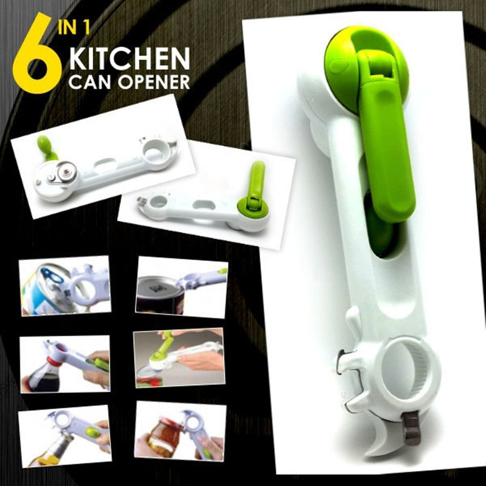 KITCHEN OP™ 6-IN-1 MULTIFUNCTIONAL MANUAL CAN OPENNER
