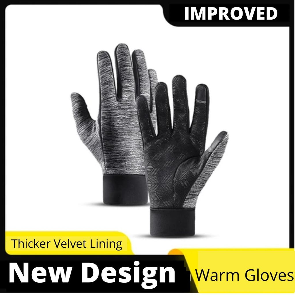 Outdoors Warm Gloves (Touch Screen Enabled)