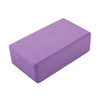 Purple Yoga Block Brick Foam