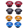 Mini Aluminum Alloy Handlebar Bar Caps Stoppers