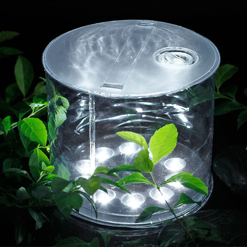 LED Solar Powered Protable Inflatable For Garden