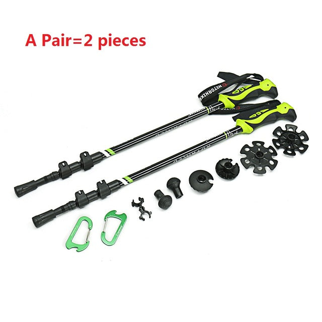 Walking Stick Telescopic Aluminum Alloy