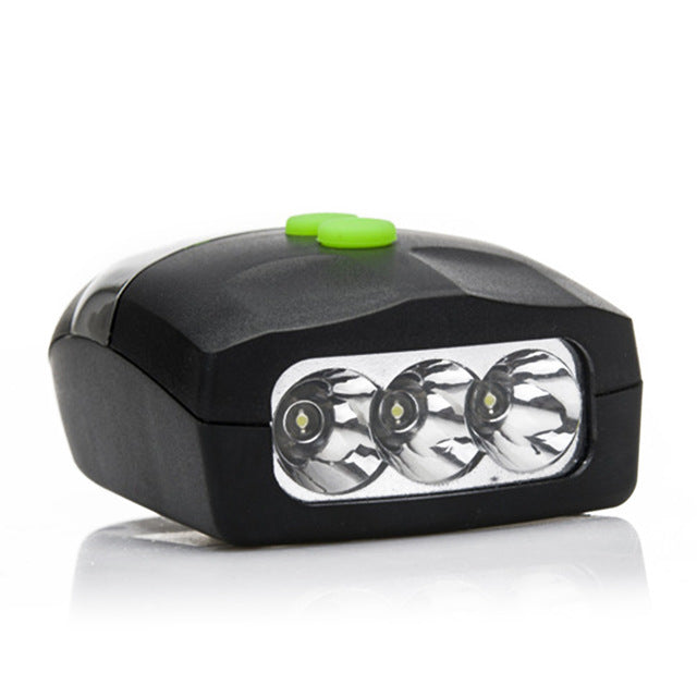 Universal 3 LED Bike Light
