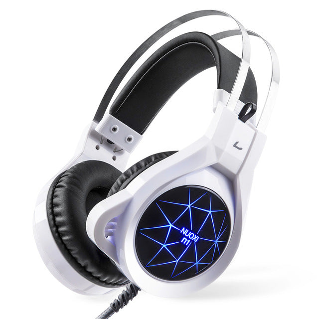 LED Backlight Gaming Headphones