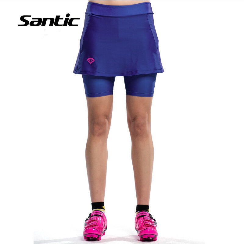 Women Cycling Shorts Culotte 4D Padded