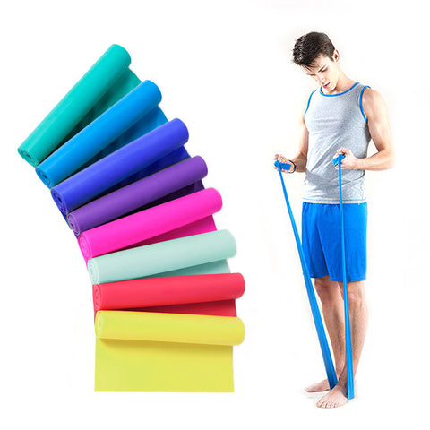 Elastic Yoga Pilates Rubber Stretch