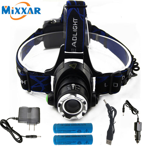 Led Headlamp Zoomable