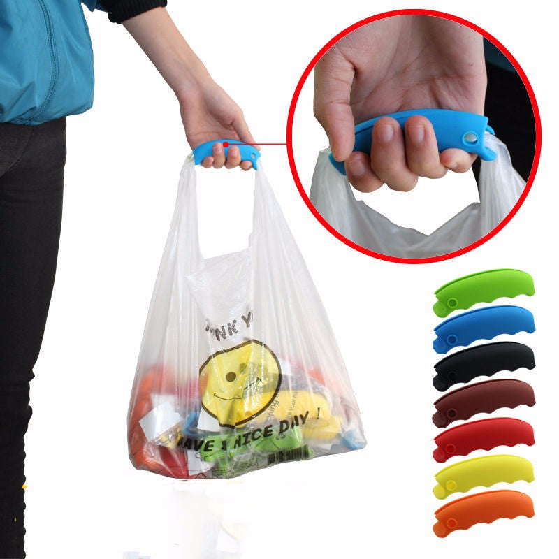 Convenient Silicon Bag Handle