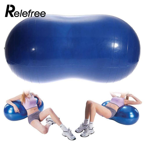 Anti-Burst Yoga Ball Peanut Shape
