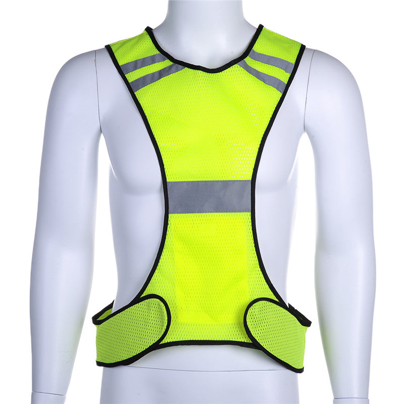 Safety Cycling Vest (Reflective - High Visibility)