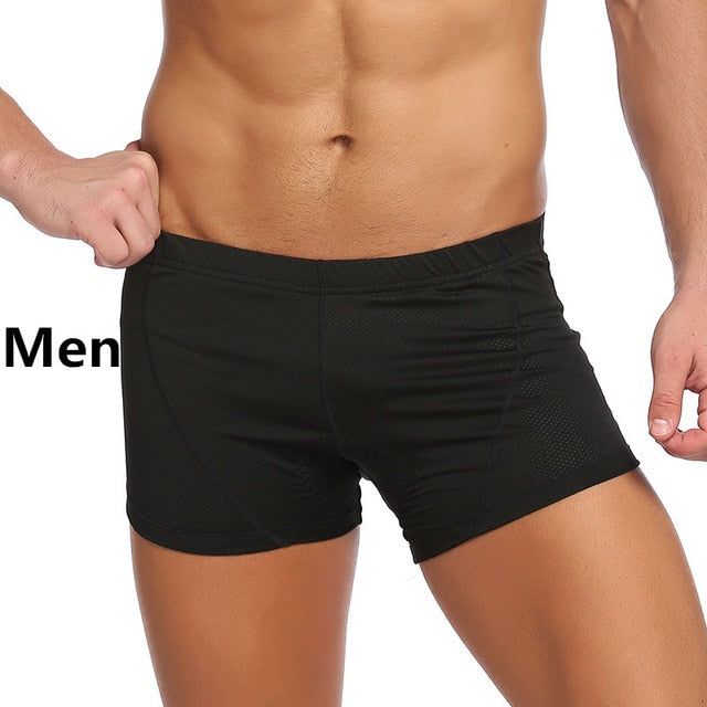 Seamless 3D Padded Cycling Shorts