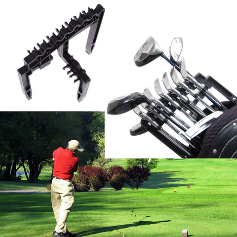 Golf Rod Rack