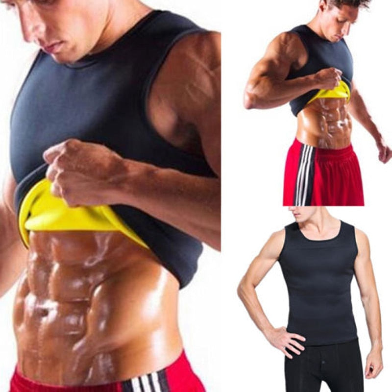 Men's Body Shaper Weight Loss Vest