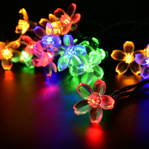 Holiday Lighting Solar Powered Leds Outdoor