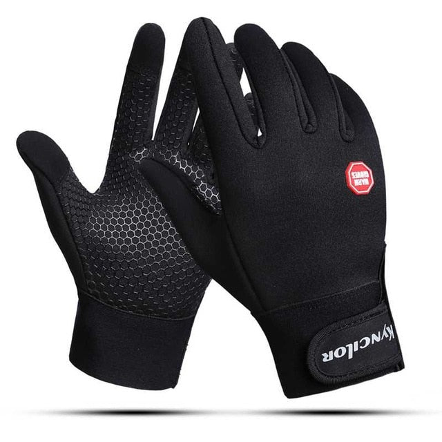 Windproof Cycling Gloves With Wrist Support