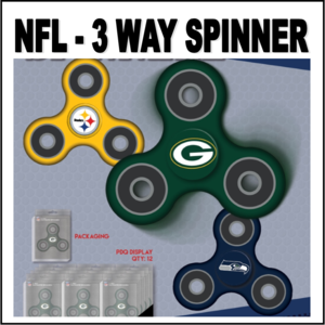 3 Way Team Spinners