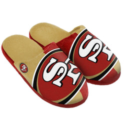 NFL San Francisco 49ers Split Color Slide Slipper