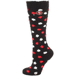 San Francisco 49ers Polka Dot Sleep Socks