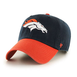 Denver Broncos 47 Brand Two-Tone Clean Up Cap