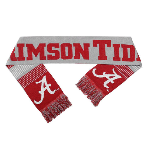 Alabama Crimson Tide Reversible Split Logo Scarf, Red