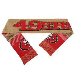 San Francisco 49ers Reversible Split Logo Scarf