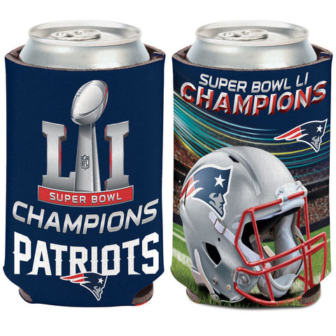 New England Patriots Super Bowl LI Champions Can Cooler