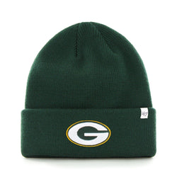 Green Bay Packers Cuffed Knit Hat One Size Fits All