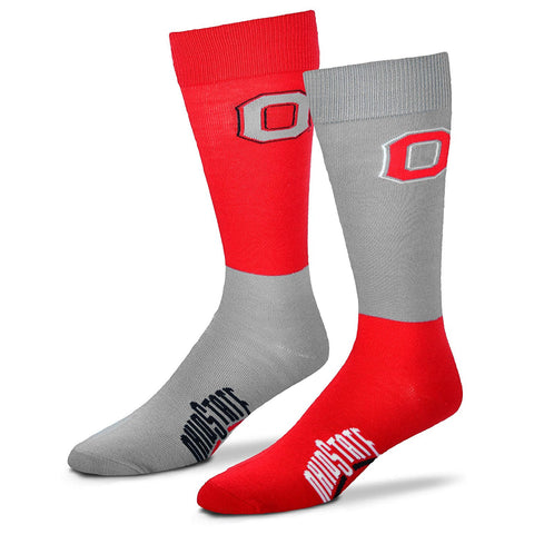 Ohio State Buckeyes 4 Square Socks