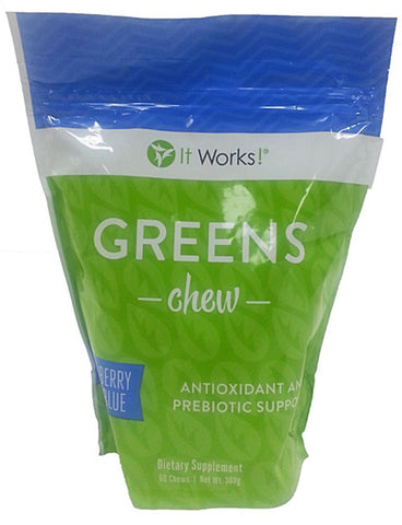 It Works Green Chews Berry Flavor 60Ct.