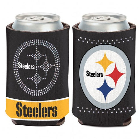 Pittsburgh Steelers Bling Can Cooler