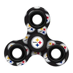 Pittsburgh Steelers Printed 3 Way Team Spinner