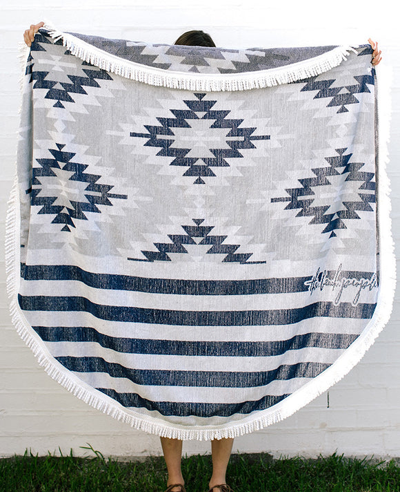'The Montauk' Roundie Towel by The Beach People