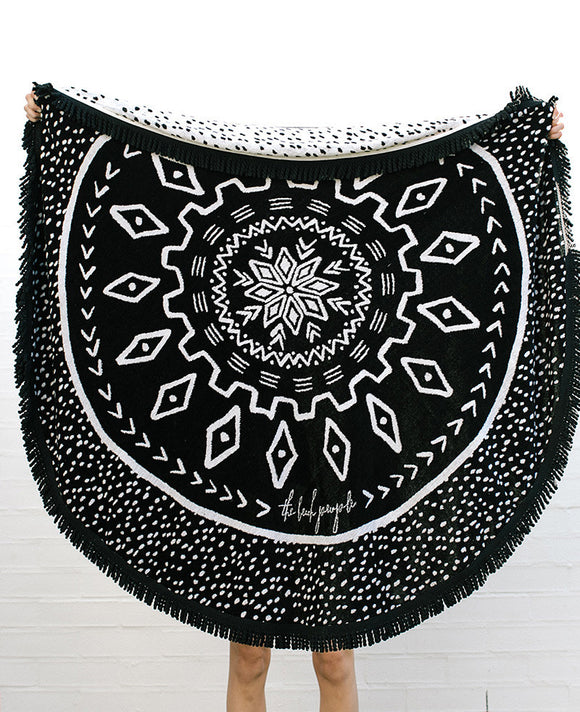 'The Dreamtime' Roundie Towel by The Beach People