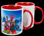 Mugs (Red Inside & Handle)