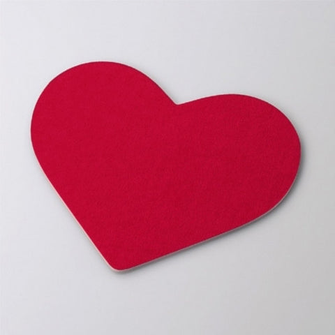 Mouse Mats Love Heart Shape