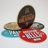 Foamex Tap Badges