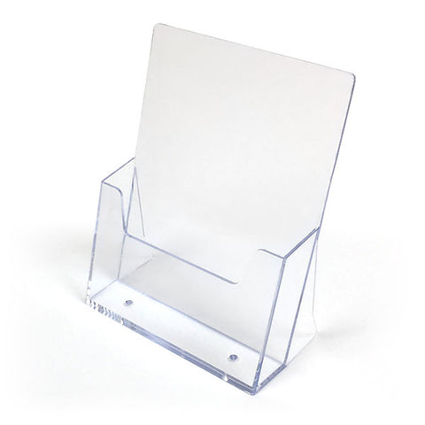 A5 Portrait Free Standing Leaflet Holder
