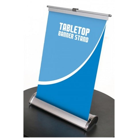 Table Top Mini Roll-Up Banner