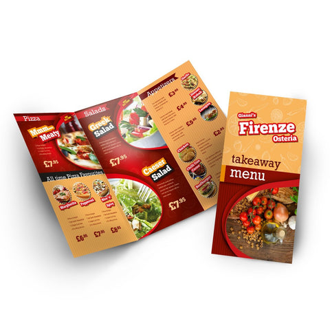 Takeaway Menu Offer