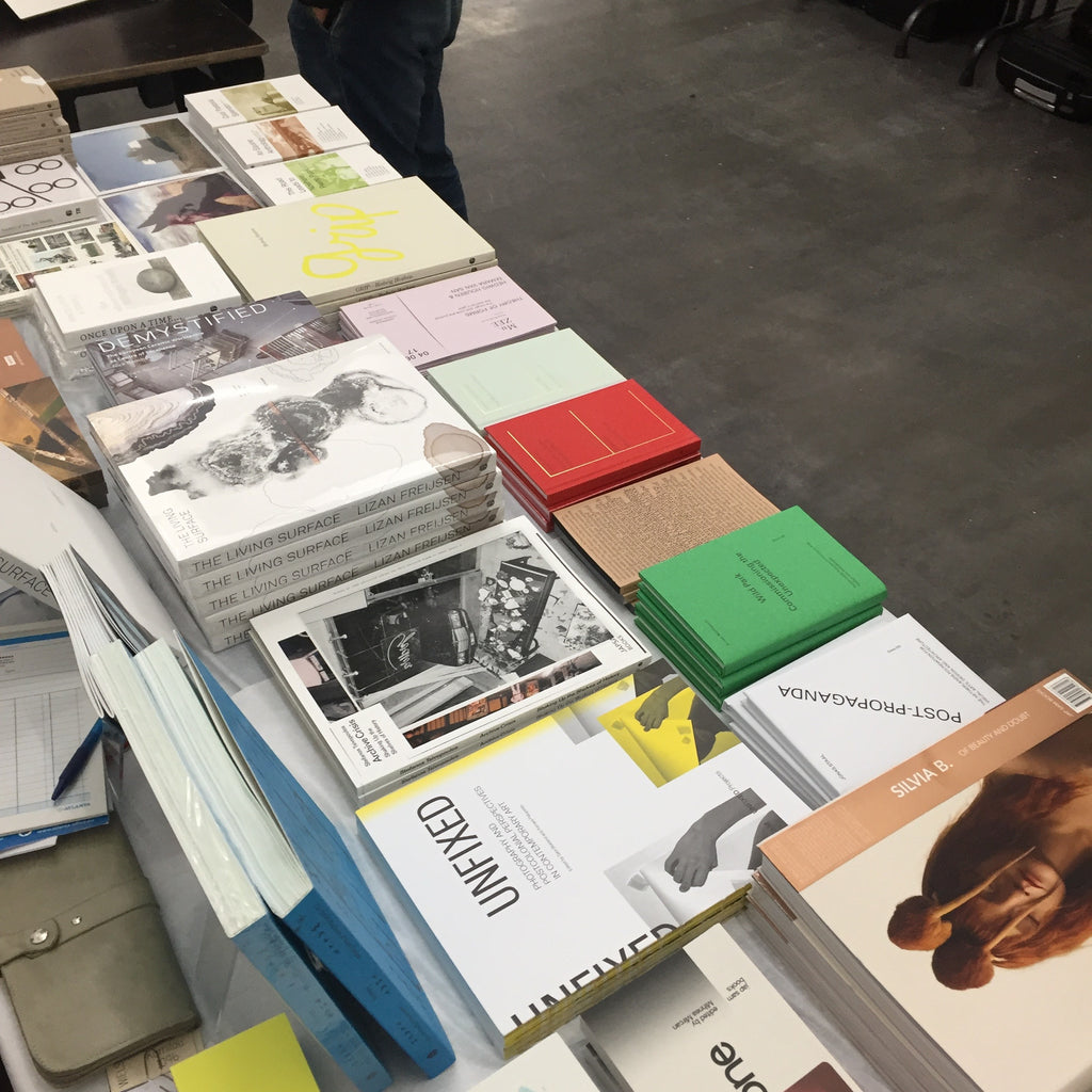 PRESENT - Antwerp Academy Art Book Fair - October 14 2017