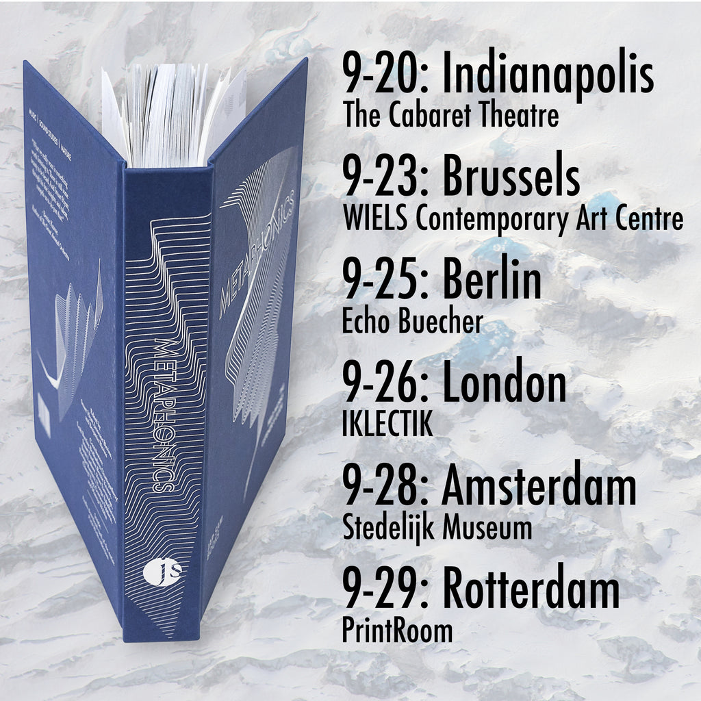 Metaphonics - Book launch schedule