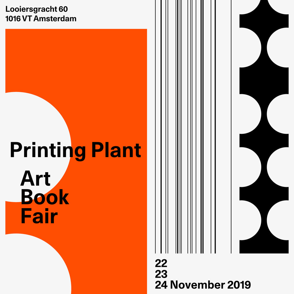 22-24.11.2019 Printing Plant Art Book Fair