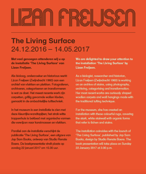 Boekpresentatie The Living Surface