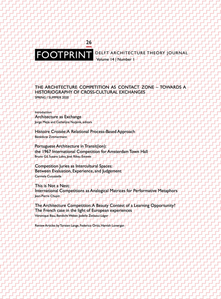 Footprint 26 The Architecture Competition as 'Contact Zone'