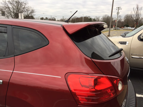 Nissan Rogue Select Model Factory Roof No Light Spoiler (2014 and UP) - DAR Spoilers
