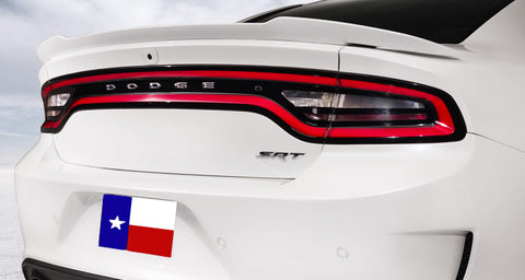 Dodge Charger Hellcat (Fits 11+) Factory Flush No Light Spoiler (2015 and UP) - DAR Spoilers