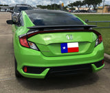 HONDA CIVIC 2DR CUSTOM 2POST NO LIGHT SPOILER (2016 AND UP) - DAR Spoilers