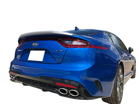 KIA STINGER CUSTOM FLUSH MOUNT MIDSTYLE SPOILER (2018 AND UP) - DAR Spoilers